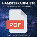 Einkaufsliste Notvorrat PDF